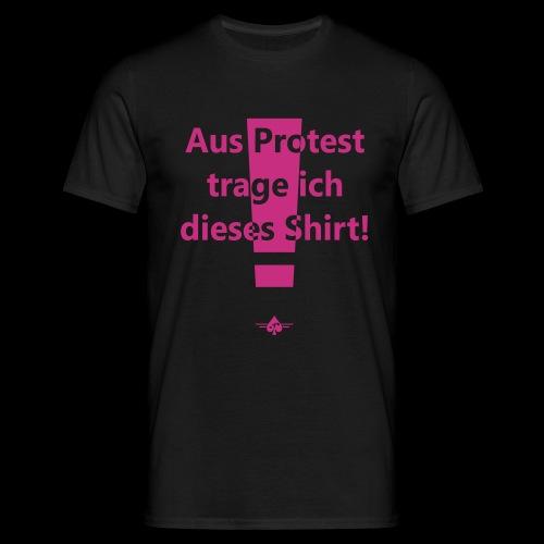 Protest (1col) - Männer T-Shirt