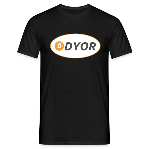 DYOR - option 2 - Men's T-Shirt