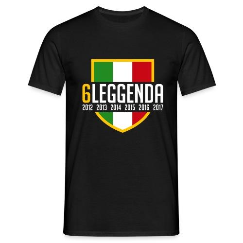 6LEGGENDA BLACK - Maglietta da uomo