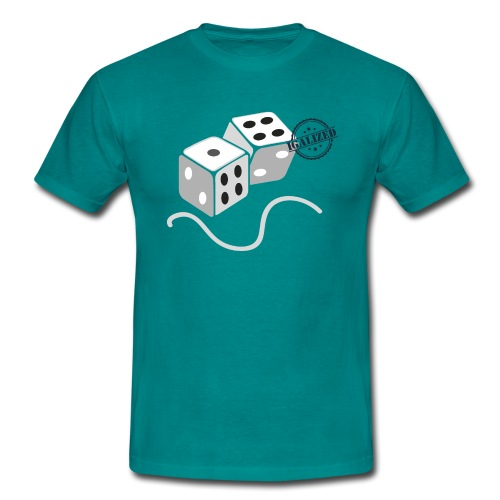 Dice - Symbols of Happiness - Men's T-Shirt