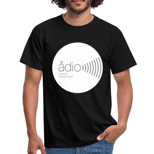 Ådio vit - T-shirt herr
