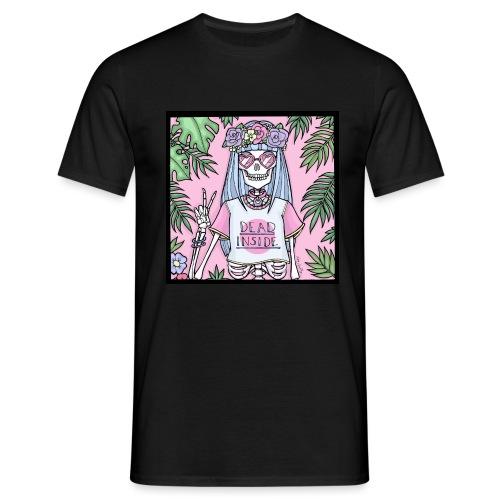 Warning: Dead Inside - Men's T-Shirt