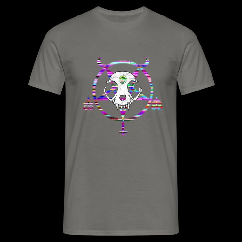 glitch cat - T-shirt Homme