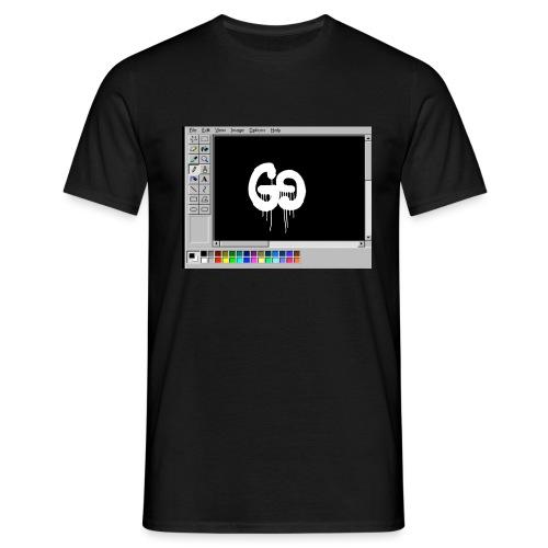GUCCIFER PAINT DESIGN - Männer T-Shirt