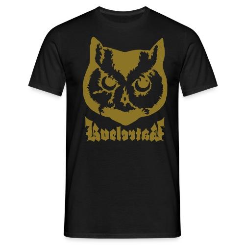 Ugle logo - T-skjorte for menn