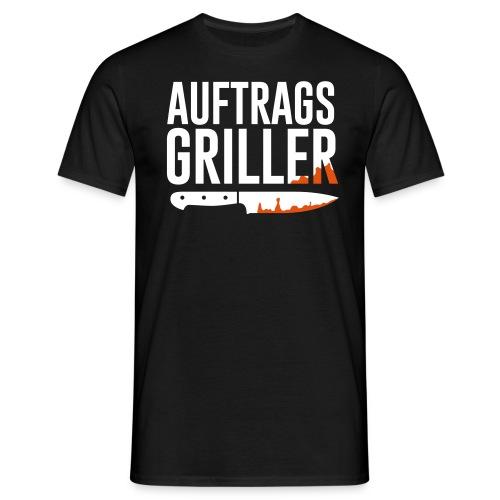 Auftrags Griller - Männer T-Shirt