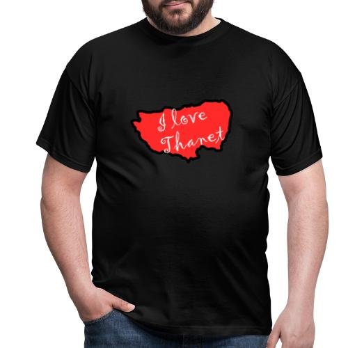 I Love Thanet - Men's T-Shirt