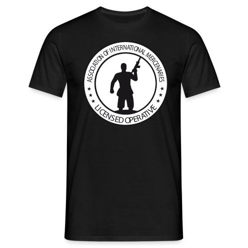 aimbutton - Männer T-Shirt