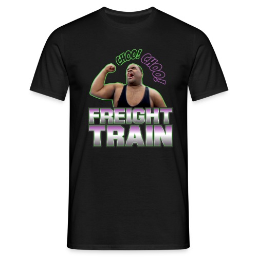 freight train 3 - Men's T-Shirt