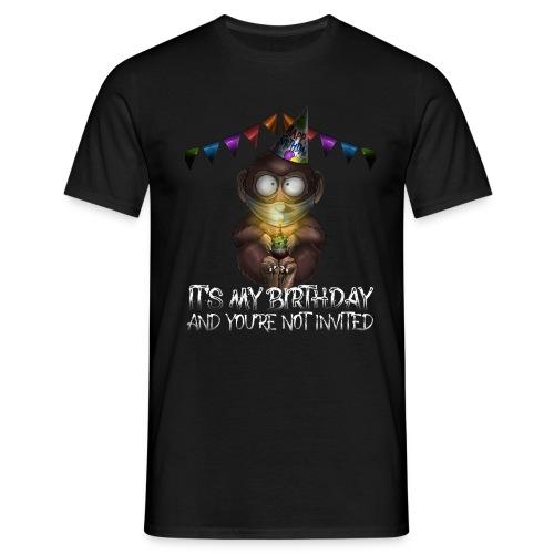 Quarantine Birthday | Monkey Social Distance - Maglietta da uomo