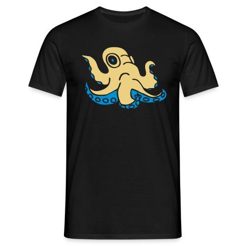 Krake octopus Tintenfisch squid ocean water wasser - Männer T-Shirt