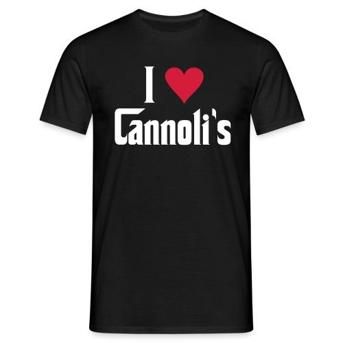I Love Cannoli - Men's T-Shirt