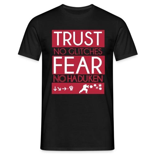 TRUSTNO GLITCHES FEARNOKE - Men's T-Shirt