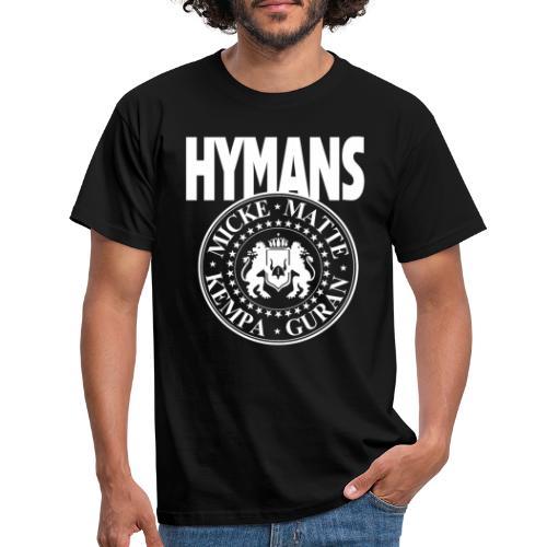 Hymans White classic logo print - T-shirt herr