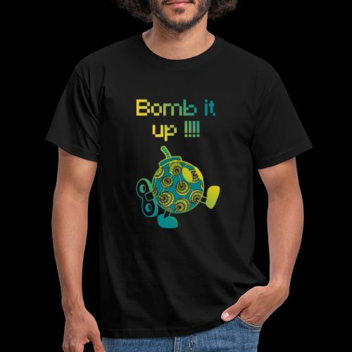 Bomb It Up : Green Power !!! - T-shirt Homme