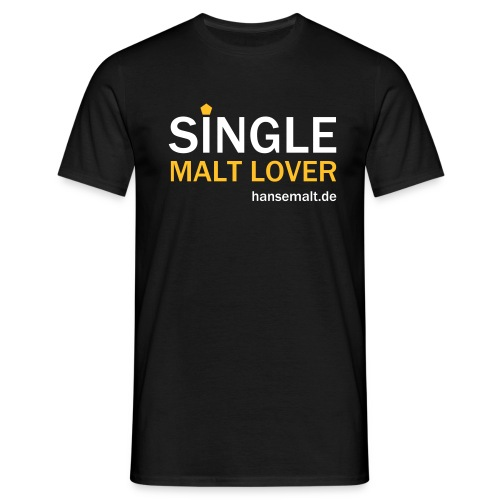 single malt lover - Männer T-Shirt
