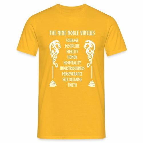 Nine nobles virtues - Camiseta hombre