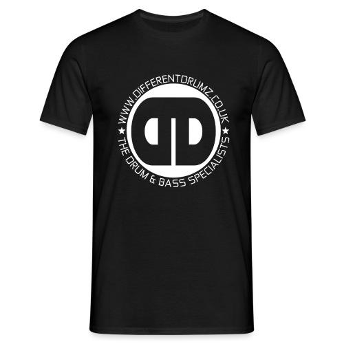 Different Drumz Logo 2020 White V2 - Men's T-Shirt