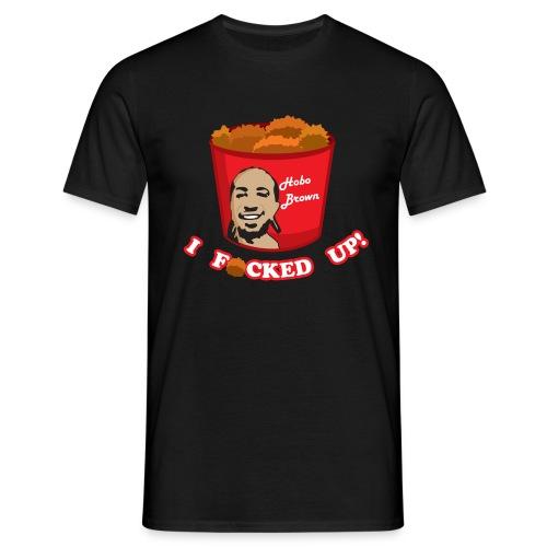 black shirt hobo - Men's T-Shirt