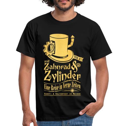 ZuZ 2018 + Brust- & Rückenmotiv - Männer T-Shirt