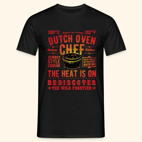 Grill-Shirt Dutch Oven Chef - Männer T-Shirt