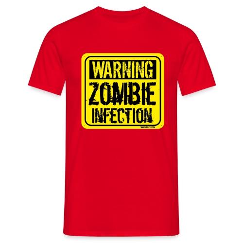 tshirt zombie png - Maglietta da uomo