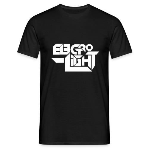Electro Logo for white final png - Men's T-Shirt
