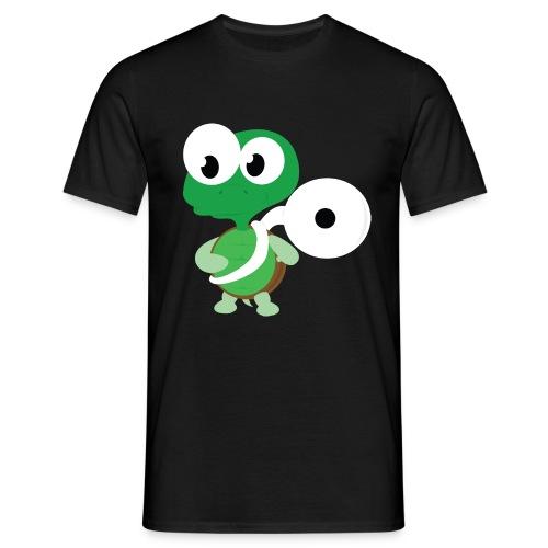 tuba schildpad4 - Mannen T-shirt