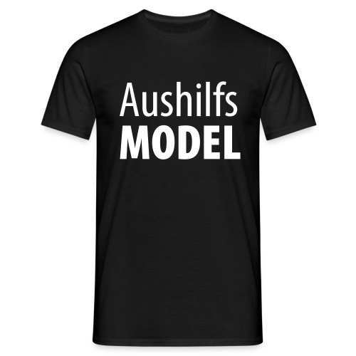 Aushilfsmodel - Männer T-Shirt