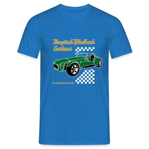 77 gruen - Männer T-Shirt