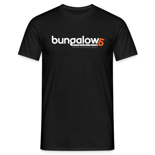 logo bungalow5 2016 over - Männer T-Shirt
