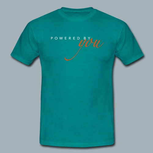 Powered By You Basketbal Shirt - Mannen T-shirt