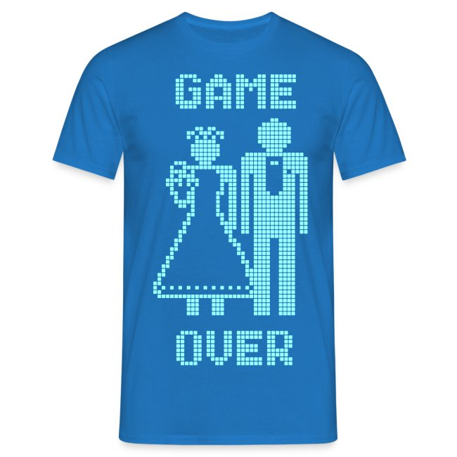 Game Over Old Skool blauw