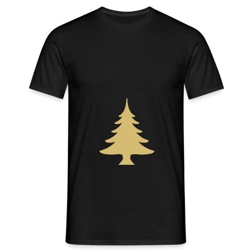 Weihnachtsbaum Christmas Tree Gold - T-shirt Homme