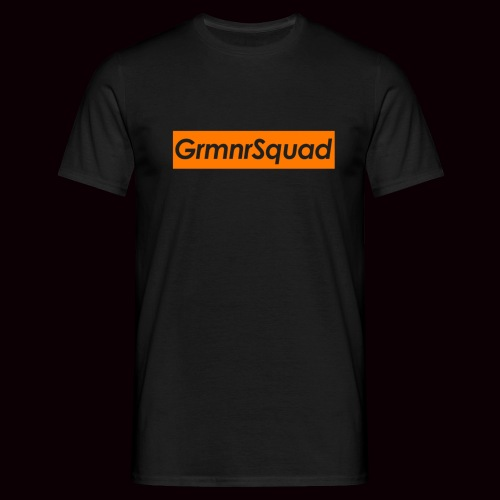 grmnr orange png - T-shirt Homme