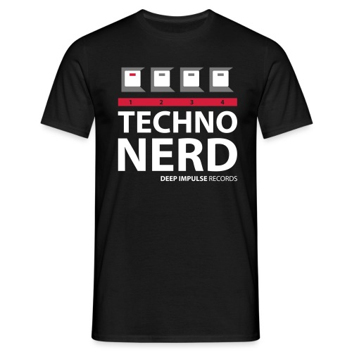 Techno Nerd - Men's T-Shirt