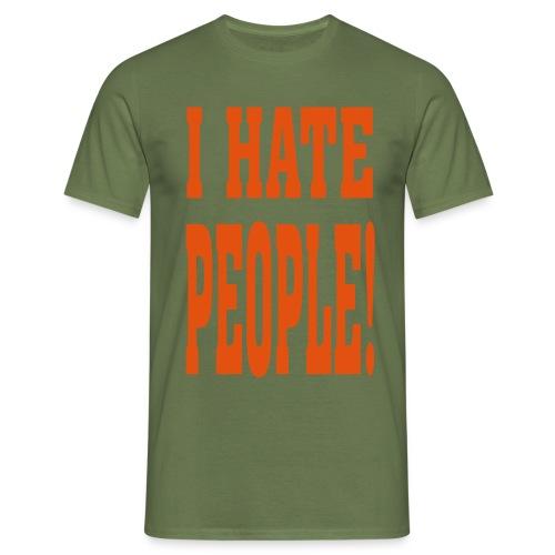 ik hou van dieren - Mannen T-shirt