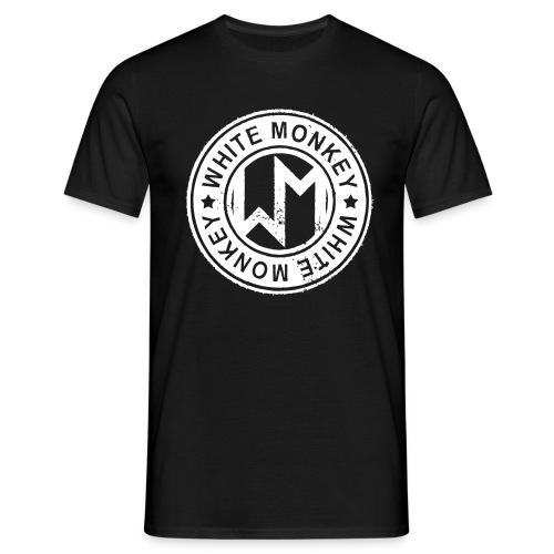 WM LOGO CIRKEL STAMP - T-shirt herr