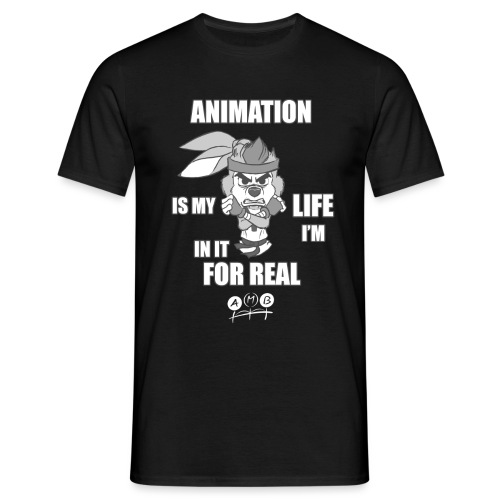 AMB Animation - In It For REAL - Men's T-Shirt