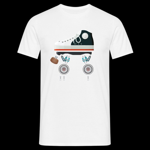 Rollerskates scherm - T-shirt Homme