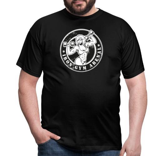 iron gym girl - Camiseta hombre