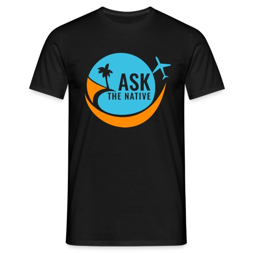 Ask the Native Original Logo - Mannen T-shirt