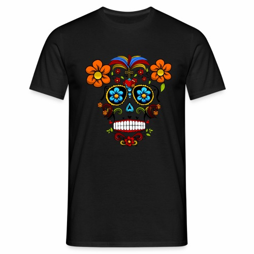 Calavera transparente - Camiseta hombre