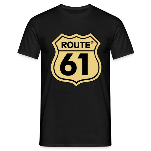 Route 61 - Mannen T-shirt