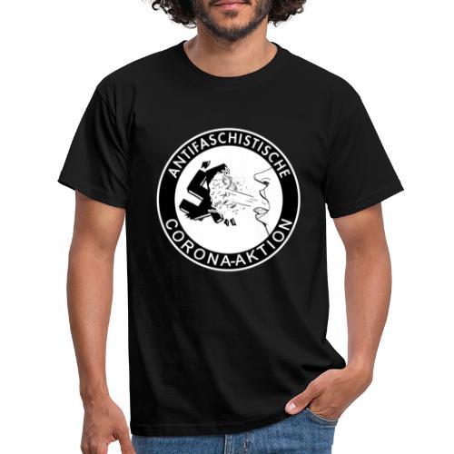 Antifaschistische Corona-Aktion - Männer T-Shirt