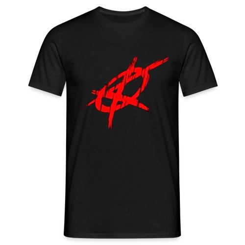 krimewave anarchy flag large - Men's T-Shirt