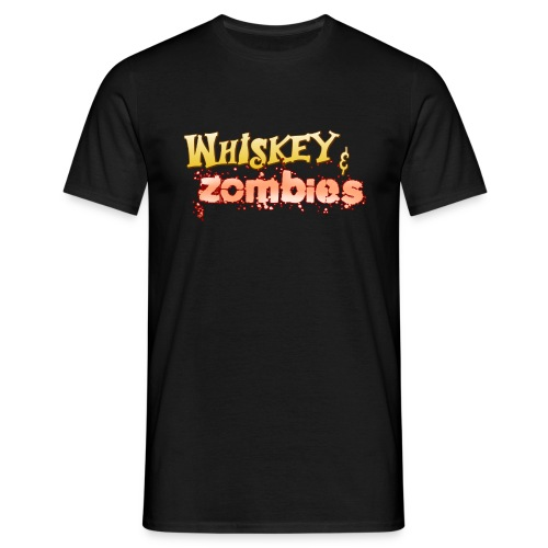 Whiskey Zombies Logo - T-shirt herr