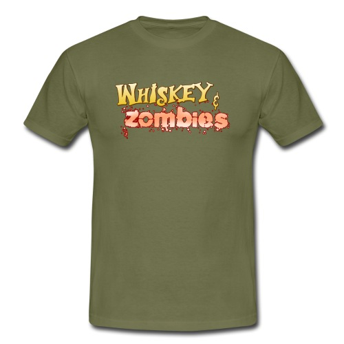 Whiskey Zombies Logo - T-shirt herr