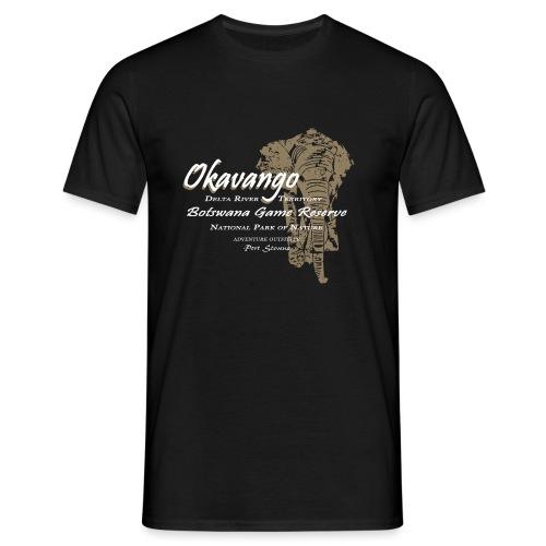 026 Okavango Elefant png - Männer T-Shirt