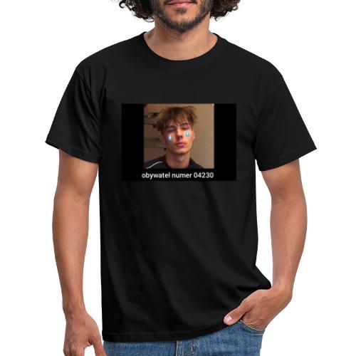 obywatel numer 04230 - Koszulka męska